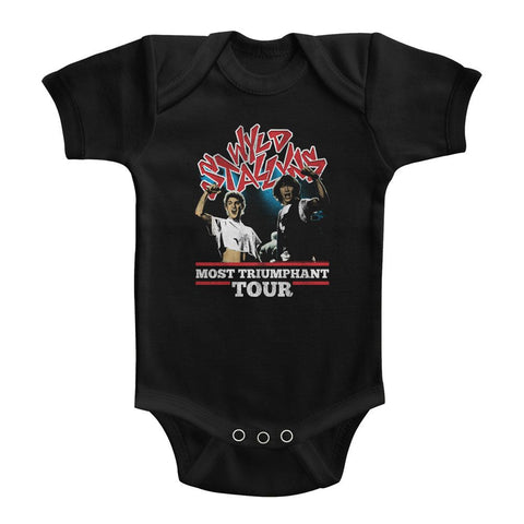 Bill And Ted-Most Triumphant-Black Infant S/S Bodysuit