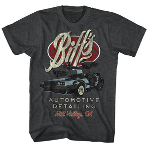Back To The Future-Biff's-Black Heather Adult S/S Tshirt