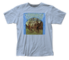 Creedence Clearwater Revival Debut Album Logo Light Blue Short Sleeve Adult Soft Slim Fit Unisex Jersey T-Shirt tee - Coastline Mall