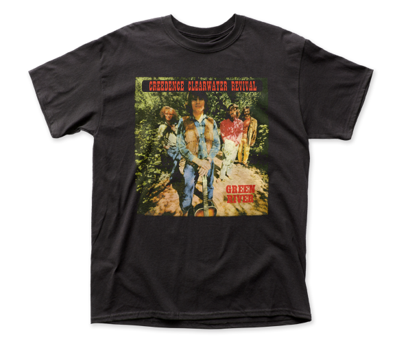 Creedence Clearwater Revival Green River fitted jersey tee