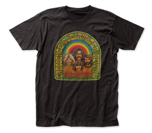 Creedence Clearwater Revival In Concert fitted jersey tee