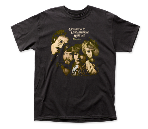 Creedence Clearwater Revival Pendulum fitted jersey tee