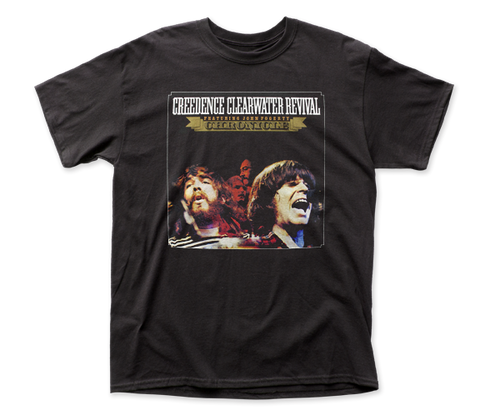 Creedence Clearwater Revival Chronicle fitted jersey tee