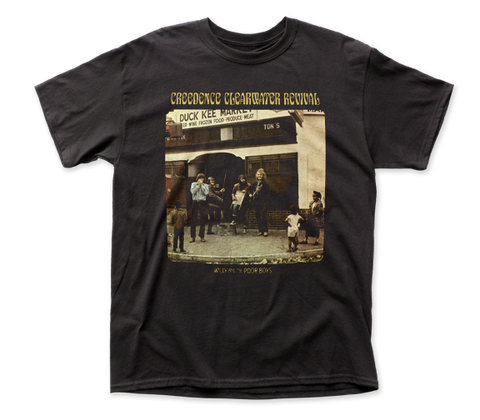 Creedence Clearwater Revival Poor Boys fitted jersey tee