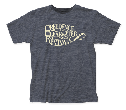 Creedence Clearwater Revival Logo fitted jersey tee