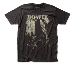 David Bowie Guitar fitted jersey tee