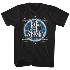Def Leppard-Electric Eye-Black Adult S/S Tshirt