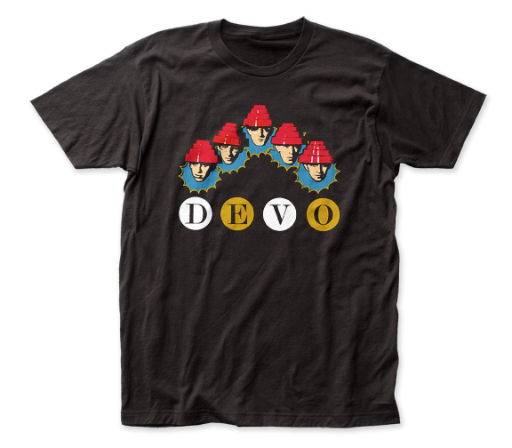 Devo Whip It Heads fitted jersey tee - Coastline Mall