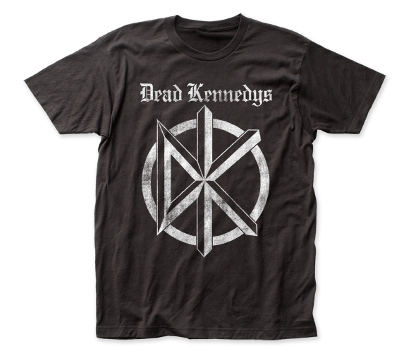 Dead Kennedys Distressed Old English Logo fitted jersey tee