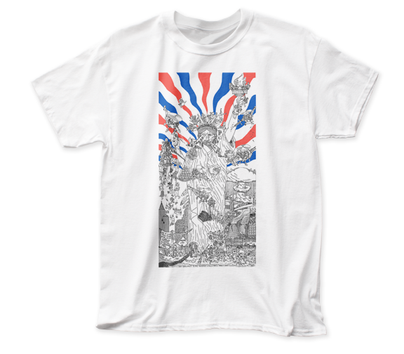 Dead Kennedys Bedtime for Democracy adult tee