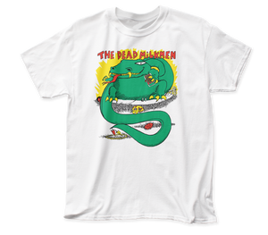 Dead Milkmen Big Lizard In My Backyard fitted jersey tee