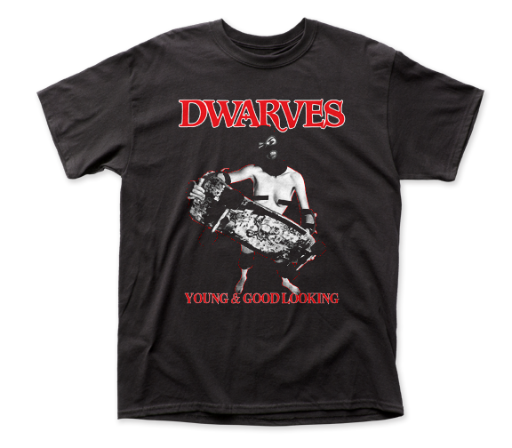 Dwarves Young & Good Looking adult tee