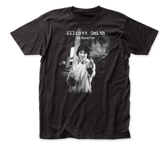 Elliott Smith Either/Or fitted jersey tee
