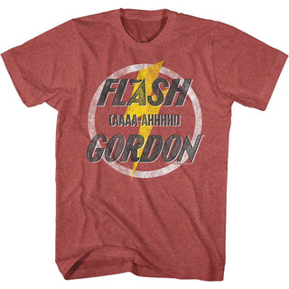 Flash Gordon - Aaaaa-Hhhhh! | Red Heather S/S Adult T-Shirt - Coastline Mall