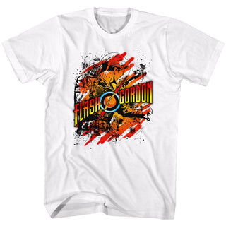 Flash Gordon-Flashtastic-White Adult S/S Tshirt - Coastline Mall