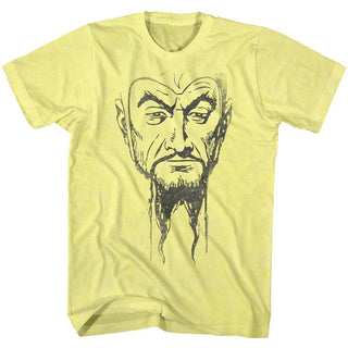 Flash Gordon-Ming Mug3-Yellow Heather Adult S/S Tshirt - Coastline Mall