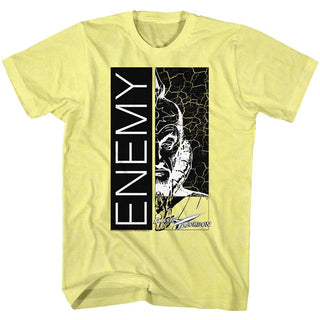 Flash Gordon-Enemy-Yellow Heather Adult S/S Tshirt - Coastline Mall