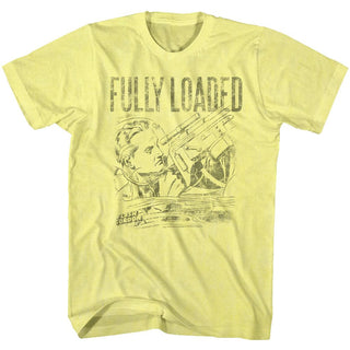 Flash Gordon-Fully Loaded-Yellow Heather Adult S/S Tshirt - Coastline Mall