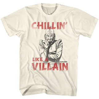 Flash Gordon-Villain-Natural Adult S/S Tshirt - Coastline Mall