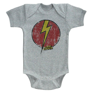 Flash Gordon - Flash Bolt | Gray Heather S/S Infant Bodysuit - Coastline Mall
