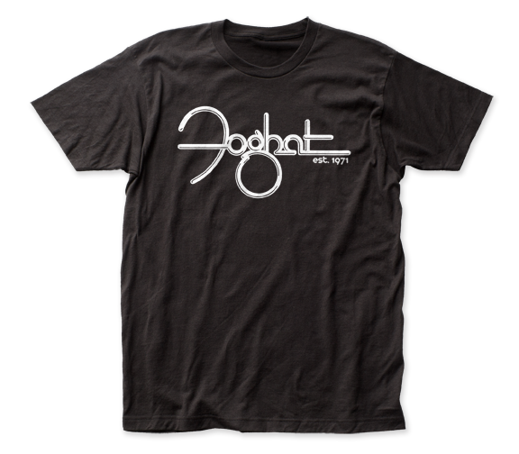 Foghat - Est. 1971 | Black S/S Adult Jersey T-Shirt - Coastline Mall