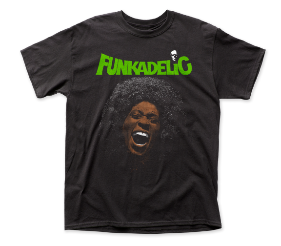 Funkadelic Free Your Mind Front-Back Print adult tee