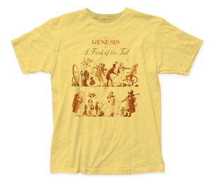 Genesis A Trick of the Tail Front-Back Print fitted jersey tee
