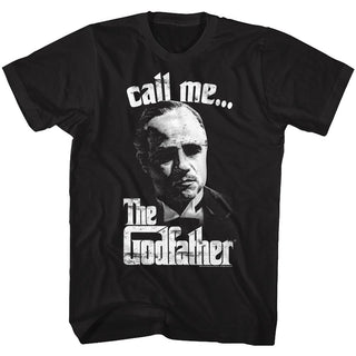 Godfather-Pixelis-Black Adult S/S Tshirt - Coastline Mall