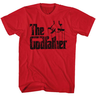 Godfather-Logo Black-Red Adult S/S Tshirt - Coastline Mall