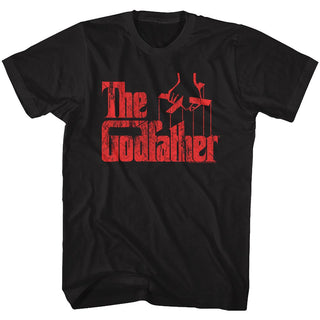 Godfather-Logo Red-Black Adult S/S Tshirt - Coastline Mall