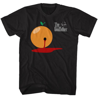 Godfather-Blood Orange-Black Adult S/S Tshirt - Coastline Mall