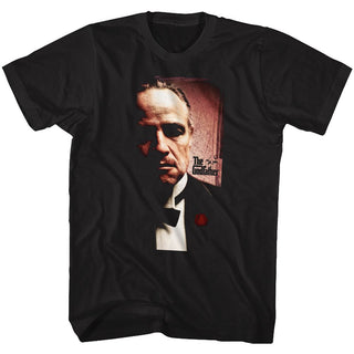 Godfather-The Don-Black Adult S/S Tshirt - Coastline Mall