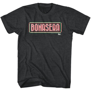 Godfather-Bonasera-Black Heather Adult S/S Tshirt - Coastline Mall