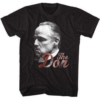 Godfather-Can't Refuse The Don-Black Adult S/S Tshirt - Coastline Mall