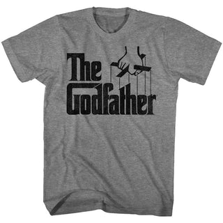 Godfather-Don Corleone-Graphite Heather Adult S/S Tshirt - Coastline Mall
