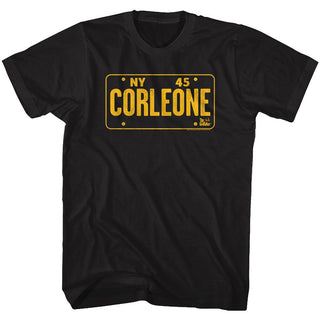 Godfather-NY45-Black Adult S/S Tshirt - Coastline Mall
