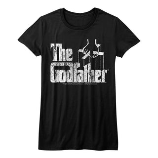 Godfather-Distress Copy-Black Ladies S/S Tshirt - Coastline Mall