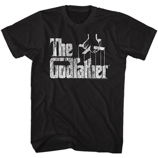 Godfather-Distress Copy-Black Adult S/S Tshirt - Coastline Mall