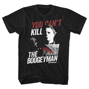Halloween Michael Myers You Can't Kill the Boogeyman Men's Horror T-Shirt