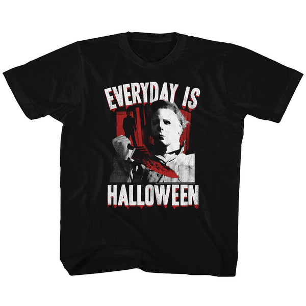 Halloween-Everyday-Black Toddler-Youth S/S Tshirt