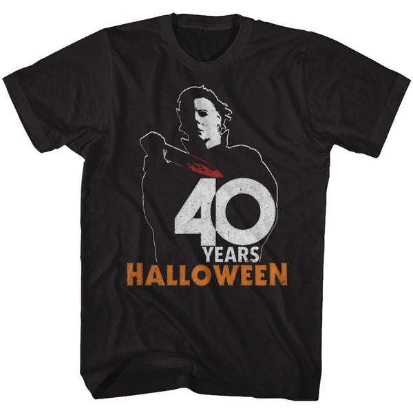 Halloween-Halloween 40-Black Adult S/S Tshirt - Coastline Mall