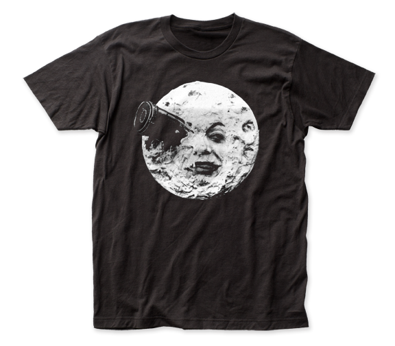A Trip to the Moon Logo Black Short Sleeve Adult Soft, Slim Fit Unisex Jersey T-Shirt tee - Coastline Mall
