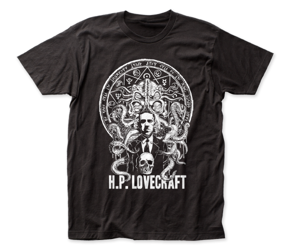 H.P. Lovecraft fitted jersey tee