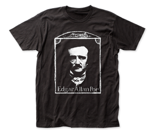 Edgar Allan Poe fitted jersey tee