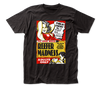 Reefer Madness - Poster Logo Black Short Sleeve Adult Soft Slim Fit Unisex Jersey T-Shirt tee - Coastline Mall