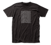 Joy Division - Unknown Pleasures Logo Black Short Sleeve Front and Back Print Soft Slim Fit Unisex Jersey T-Shirt tee - Coastline Mall