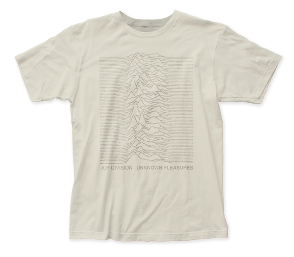 Joy Division Tone on Tone fitted jersey tee