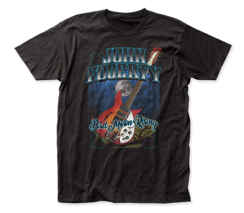 John Fogerty Bad Moon Rising fitted jersey tee