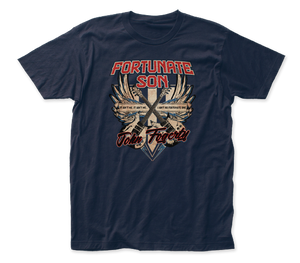 John Fogerty Fortunate Son fitted jersey tee
