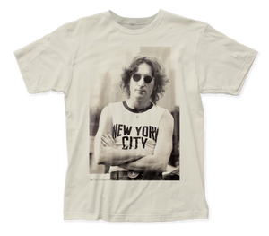 John Lennon NYC T-Shirt fitted jersey tee